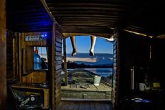 The Journey and the sunset (Sayed Sanjan) Tags: tanguar haor bangladesh rupaboi allstar boat journey blue sky tea pot sayedsanjan sayed sanjan beautiful sunset
