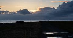 Sunset Lady (glennkphotos) Tags: sunset nikon nature naturelovers giske norway landscape siluette water seascape