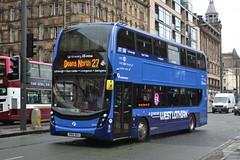 First AD Enviro 400MMC 33442 SN66WGU - Edinburgh (dwb transport photos) Tags: first alexander dennis enviro 400mmc 3442 sn66wgu edinburgh