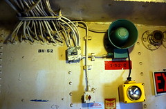 Lightship Interior, Boston MA (Boston Runner) Tags: lightship nantucket lv112 boston harbor massachusetts 1936 shipyard marina eastboston museum preserved interior speaker flashlight cables power