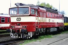 CD 753384-7 (bobbyblack51) Tags: cd class 753 ckd bobo diesel locomotive 7533847 ceska lipa depot 1999