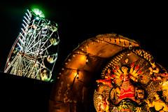 Durga pooja Memories | Kolkata,India. (vjisin) Tags: kolkata westbengal india asia streetphotography street travel travelphotography durgaidol people durga durgashtami ashtami pandals nikon nikond3200 incredibleindia indianstreetphotography lights