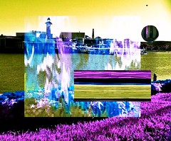 """ Within the Visual "" (ColFineArtistMar1) Tags: art photograph maniputated colors surreal perspective water outdoors florida orlando lake buena vista contemporary"