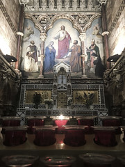 Farm Street church (Hannah Cooper.) Tags: church religious spiritual architcture candle light god catholic