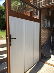 Ryterna insulated side opening doors. Brilliant doors.