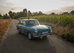 The Type 3 of my father (Pierre Monneret) Tags: vw volkswagen type 3 aircooled civilian protection civile 1973 sun belgium