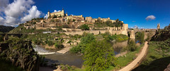 View of the Puente of Alcántara (right) from the west (hippoking) Tags: chui spain toledo city destination panorama travel