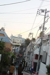 "Suga shrine from movie ""your name."" 01 (HAMACHI!) Tags: tokyo 2016 japan yotsuya   yourname movie locationsite  pilgrimage  sugashrine fuji fujifilm fujifilmx70 fujifilmx x70"