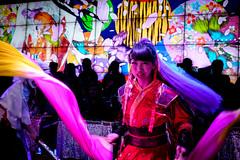 Robot Restaurant (stickyfiddle) Tags: japan tokyo travel culture japanese dance girl portrait red pink
