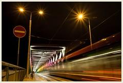 nocturnal fusion (i.v.a.n.k.a) Tags: ivanahesova ivanadorn sonyalpha night city longexposure illumination bridge slovakia bratislava