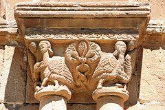 Soria_0753 (Joanbrebo) Tags: canoneos70d efs18135mmf3556is eosd autofocus spain soria castillaylen concatedraldesanpedro espaa claustro cloister capitals capitel church chapiteaux esglsia iglesia