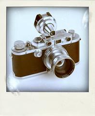 Leica IIIa (Leo Reynolds) Tags: xleol30x poladroid polaroid faux fauxpolaroid fake fakepolaroid phoney phoneypolaroid camera nottakenbyme