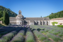 Abbaye de Snanques (crispin52) Tags: france provence snanques lavender church nikon landscape