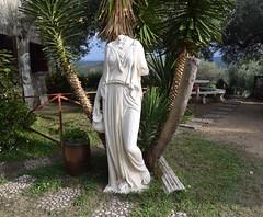 DSC_0317 (violamorina) Tags: albania albanian balkan apollonia fier shqiperia shqip statues sculpture