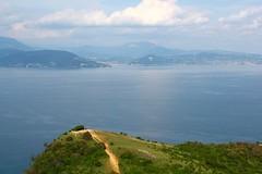 View from Rocca di Manerba. Punta Sasso. (elsa11) Tags: roccadimanerba puntasasso lagodigarda lakegarda gardameer gardasee italy italia italië manerbadelgarda lake meer see brescia mountains