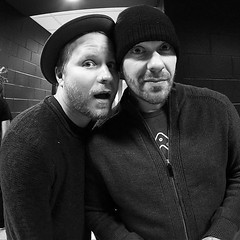 #Repost Shinedown: Mr. @zmyersofficial and @thebrentsmith #falltour2016 #backstage #brentsmith #zachmyers #Shinedown (ShinedownsNation) Tags: shinedown nation shinedowns zach myers brent smith eric bass barry kerch