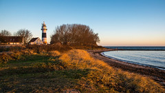 Lighthouse (***stina***) Tags: ostsee schleswigholstein leuchtturm lighthouse strand beach meer sea sand sonnenaufgang sunrise herbst autumn morning morgen nikon available light