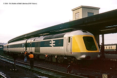 c.03/1973 -York. (53A Models) Tags: britishrail intercity125 prototypehighspeedtrain class41 41001 diesel passenger train york railway locomotive railroad