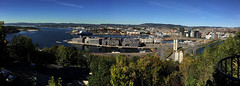 Large panorama view of Oslo, Norway (JRJ.) Tags: norge norway oslo panorama nature cityscape urban city beautiful vista visitnorway