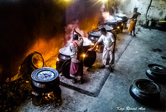 Mezban cooking (Kazi Riasat Alve) Tags: feast mobilephonephotography mezban chittagong tradition traditional