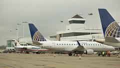 A Concourse - Cincinnati N. Kentucky International (JFeister) Tags: kcvg cvg cincinnati airport kentucky aviation airplane canon americaneagle unitedexpress crj200 emb170 emb175 n907ev n648rw