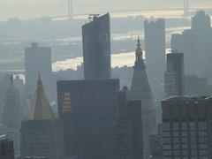 Aerial View, Midtown Manhattan, Top of the Rock Observation Deck, Rockefeller Center, New York City (lensepix) Tags: aerialview midtownmanhattan topoftherock observationdeck rockefellercenter newyorkcity
