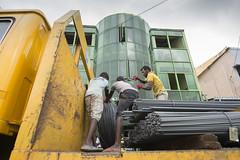 Red gloves (Photosightfaces) Tags: unloading workers work truck steel men man sri lanka lankan srilanka srilankan steelbars unload labour ambalangoda