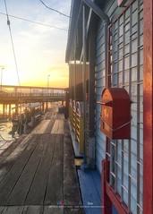 海上木屋 (Ah Wei (Lung Wei)) Tags: penang penangisland georgetown pulaupinang malaysia georgetownpenang my sunrises sunset sunsets longexposure landscape shore clouds ahweilungwei limjetty limjettypenang iphonese iphone iphotography sunrise