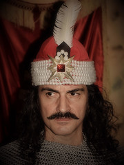 Vlad the Impaler(Dracula)  inspiration for the vampire Count Dracula (Ioan BACIVAROV Photography) Tags: vlad vladimpaler romanian vladepe vladdracula dracula 15thcentury voivode prince wallachia ottomans cruelty vampire countdracula bramstoker famous history historian brutalpunishments bacivarov ioanbacivarov bacivarovphotostream interesting beautiful wonderful wonderfulphoto nikon portrait nose mouth eyes historical