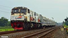 Double Lokomotif (bremadwi) Tags: kai keretaapi kereta kai121 keretaluarbiasa prambanan pasundan double douletraction dt cc20313