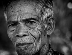 Ne' Yayu' (Collin Key) Tags: man face grandfather tanatoraja maruang old portrait indonesia blackandwhite sulawesi idn