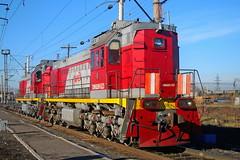 TEM18DM-523 (zauralec) Tags: rzd ржд локомотив поезд депо тепловоз depot kamenskuralsky каменскуральский tem18dm523 523 тэм18дм523 тэм18дм tem18dm