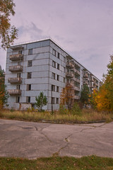 Random Zone Externals (Chernobyl Exclusion Zone)_4 (Landie_Man) Tags: none externals pripyat chernobul chernobyl the zone radiation radioactive disused ionising abanoned forgotten ukraine outside photos buildings soviet ussr cccp ccpp ccp