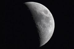The Moon (Daniel McCauley) Tags: moon moonphoto moonshot solarsystem astrophotography astrophoto atsion lake new jersey