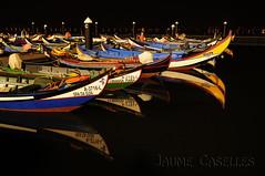 Barcas en la noche (JAUME CASELLES) Tags: barcas en la noche portugal jaume