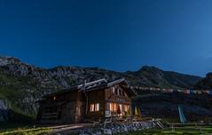 Refus de la Vogealle (1902m), Haute-Savoie, France (Loïc Bouchet) Tags: night summer 2015 tourdesdentsblanches rando été d750 moutains french alps