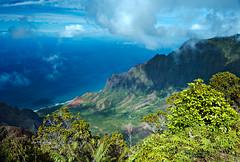 Nepali Coast (blaisingm) Tags: napali coast kauai hawaii na palikona forest reserve kauaʻi hawaiian state park polihale kokee road kalalau valley kee beach