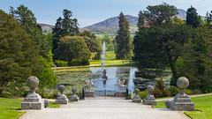 Powerscourt Estate / Gardens (Lyall Bouchard) Tags: ireland enniskerry powerscourtestate countywicklow wingedhorse laketriton italiangarden fountain