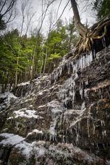 Buttermilk / Bear Creek Falls (2), 2016.11.21 (Aaron Glenn Campbell) Tags: bearcreek whitehavenroad bearcreekfalls buttermilkfalls luzernecounty nepa pennsylvania outdoors nature pawaterfalls optoutside 3xp 2ev macphun aurorahdr2017 sony a6000 ilce6000 mirrorless rokinon 12mmf2ncs wideangle primelens manualfocus emount tiffen 3fstops ndfilter neutraldensity