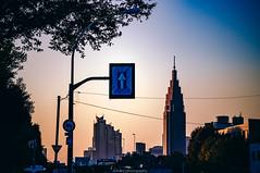 DSC_4223 (juor2) Tags: up dusk d4 nikon scene street streetsnap shinanomachi shinjuku japan building yourname