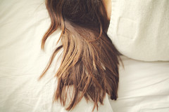 Sleep (Laura Marianne) Tags: girl hair sleep soft light moments mood self feeling