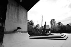 Skateboarding, Barcelona (vctor patio george) Tags: barcelona skateboarding catalunya blancoynegro blackandwhite tamron sk8 sk8boarding vpg victorpatiogeorge nikon nikond3200 d3200 1024 tamron1024 europa europe