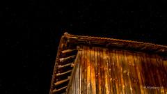 Night sky (Milen Mladenov) Tags: 2016 bulgaria d3200 september varbovchets autumnnikon barn light night sky stars wood