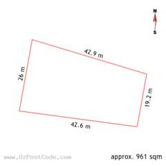 48 Carrodus Street, Fraser 2615 ACT land size