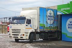 KamAZ-6520  Х 854 ТЕ 174 (RUS) (zauralec) Tags: kurgan street 1st may kamaz6520 х 854 те 174 rus курган