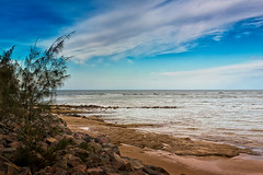 Beautiful Australian Beach (k009034) Tags: 500px waves australia caloundra day pacific queensland tranquil scene beach bush clouds nature no people ocean oceania rocks sand sea sky travel destinations water teamcanon