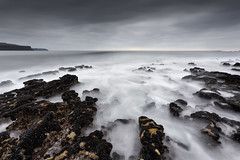 evening by the ocean (explored 04/12-2016) (Sigita JP) Tags: seascape seafront moodysky longexposure water evening ocean atlanticocean westofireland westcoast