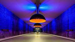 mystik lines, forms and colours (K.H.Reichert) Tags: symmetrie architektur westfriedhof geometrie railway ubahn subway station ubahnmuenchen münchen bayern deutschland de