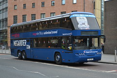 Stagecoach Neoplan Skyliner 50140.TSV721 - Glasgow (dwb photos) Tags: coach glasgow stagecoach neoplan skyliner 50140 megarider tsv721