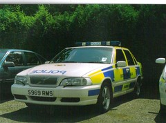 S969RMS Volvo S70 T5 (undercoverelephant) Tags: college scotland volvo central scottish police t5 s70 tulliallan